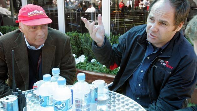 """Berger: """"Niki wird bald Kindermädchen werden"""" (Bild: APA/Roland Schlager)"""