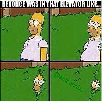 Beyonces Schwester Solange prügelte auf Jay-Z ein (Bild: twitter.com)