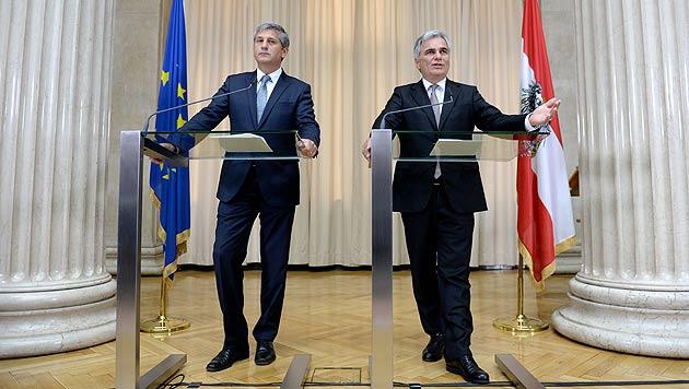 """Fahrplan für """"Amt der Bundesregierung"""" steht (Bild: APA/Roland Schlager)"""