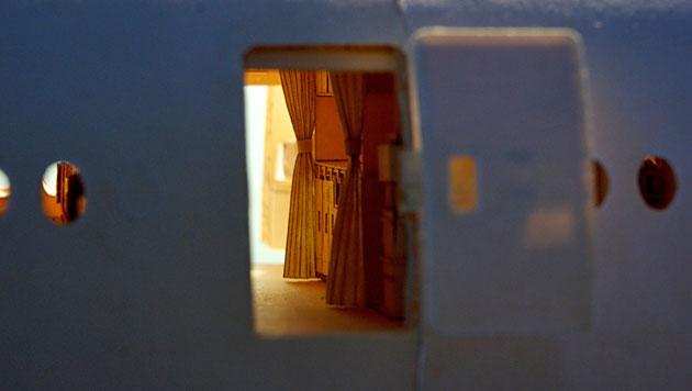 Amerikaner baut Boeing 777-300 aus Papier nach (Bild: Luca Iaconi-Stewart)