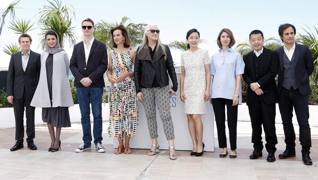 Die Jury der Filmfestspiele von Cannes 2014 (Bild: APA/EPA/SEBASTIEN NOGIER)