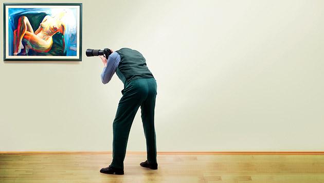 Foto-Verbot in Museen zunehmend aufgeweicht (Bild: thinkstockphotos.de)