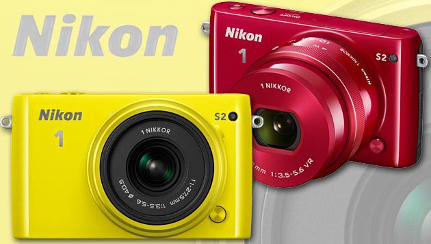 Nikon 1 S2 für Juni angekündigt (Bild: Nikon, krone.at-Grafik)