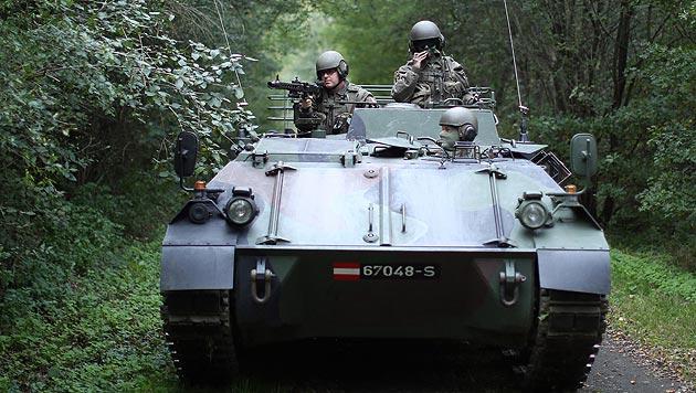 """Offiziere schlagen Alarm: """"Sind bald schutzlos"""" (Bild: APA/GEORG HOCHMUTH)"""