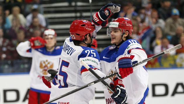 Russland erringt vierten Sieg im vierten Spiel (Bild: AP)