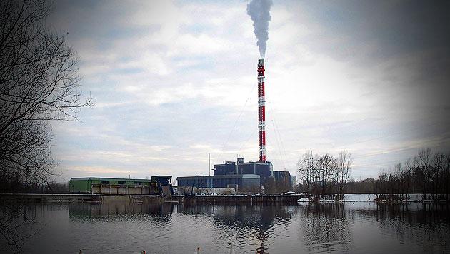 Gas-Kombikraftwerk im steirischen Mellach (Bild: APA/HELGE SOMMER)