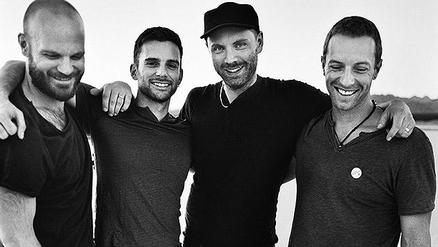 Bei Coldplay haben die Geister Einzug gehalten (Bild: Warner Music)