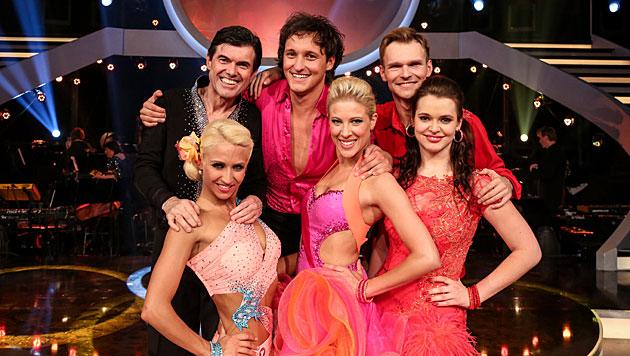 "Wer wird ""Dancing Star"": Marco, Roxanne, Hubert? (Bild: ORF/Hans Leitner)"