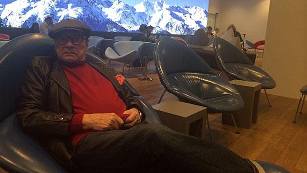 Berger mit Verspätung zu Filmfestspielen Cannes (Bild: Kronen Zeitung)