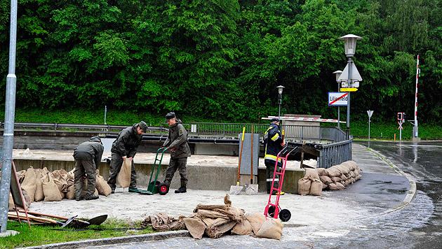 """Hochwasser: """"Das Schlimmste haben wir überstanden"""" (Bild: MilKdo NÖ)"""
