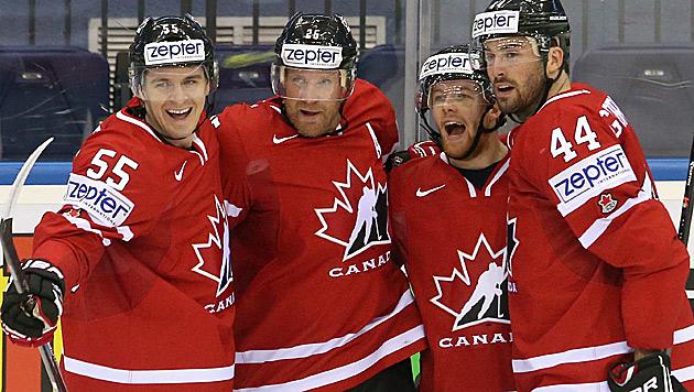 Kanada und Schweden vorzeitig im Viertelfinale (Bild: APA/EPA/TATYANA ZENKOVICH)