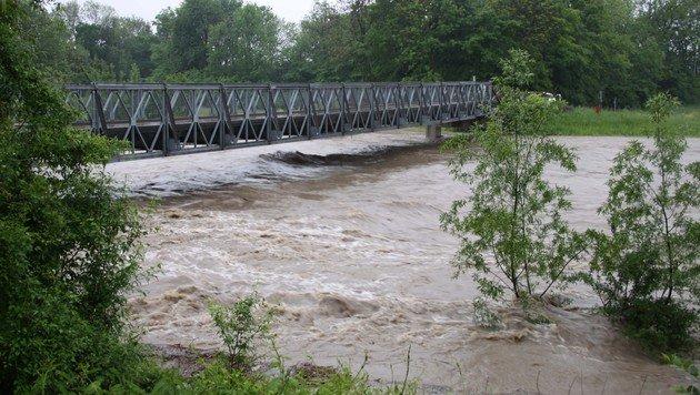 Katastrophenalarm wegen Starkregens im Landesosten (Bild: florian schmidtbauer)