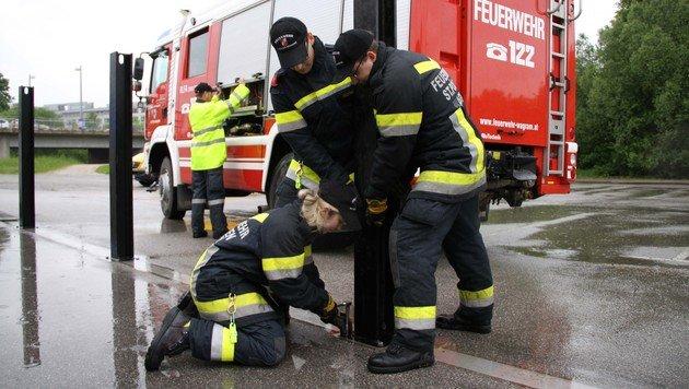 Katastrophenalarm wegen Starkregens im Landesosten (Bild: BFKDO St.Pölten)