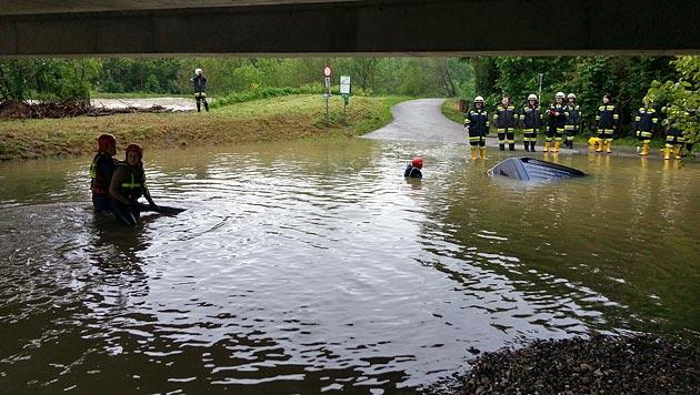 """Hochwasser: """"Das Schlimmste haben wir überstanden"""" (Bild: BFKDO St.Pölten)"""