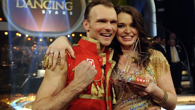 "Roxanne Rapp gewinnt ORF-Show ""Dancing Stars"" (Bild: APA/HERBERT PFARRHOFER)"