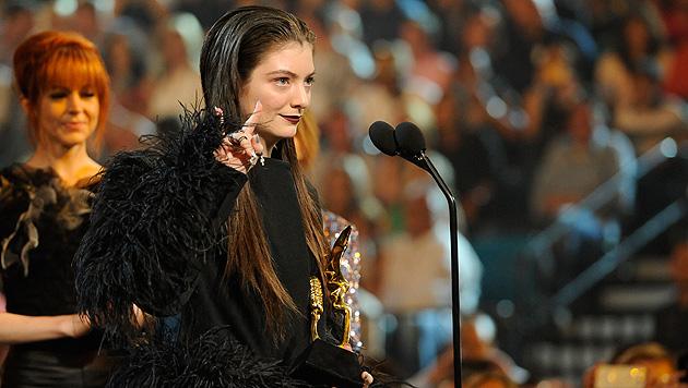 """Lorde wurde als """"beste Newcomerin"""" ausgezeichnet. (Bild: Chris Pizzello/Invision/AP)"""