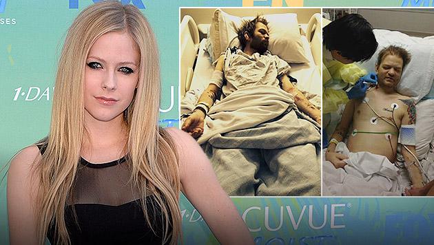 Lavigne-Ex: Nur einen Drink vom Tod entfernt (Bild: AP, deryckwhibley.net)