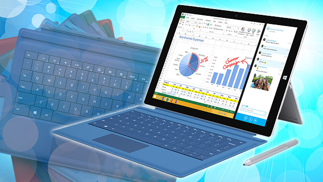 Alleskönner: Microsofts Surface Pro 3 ausprobiert (Bild: Microsoft, thinkstockphotos.de, krone.at-Grafik)