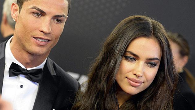 Seit Anfang des Jahres sind Cristiano Ronaldo und Irina Shayk getrennt. (Bild: APA/EPA/WALTER BIERI)