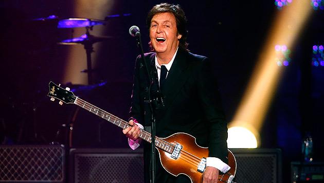 Paul McCartney auf dem Weg der Besserung (Bild: AP)