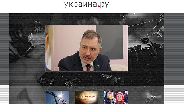 In der 24-minütigen Dokumentation kommt auch EU-Abgeordneter Ewald Stadler zu Wort. (Bild: Screenshot ukraina.ru)