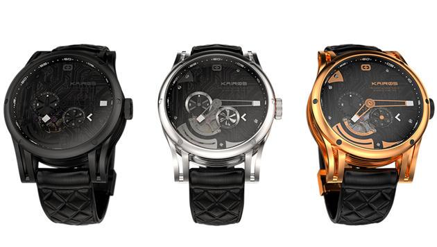 start up kombiniert mechanische uhr mit smartwatch kairos smartwatch digital. Black Bedroom Furniture Sets. Home Design Ideas