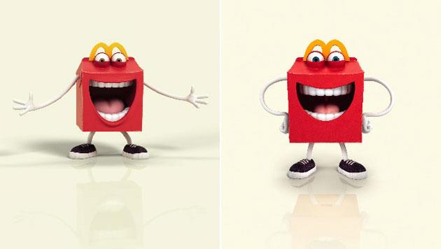 """""""Happy Meal""""-Figur sorgt für Shitstorm auf Twitter (Bild: McDonald""""s)"""