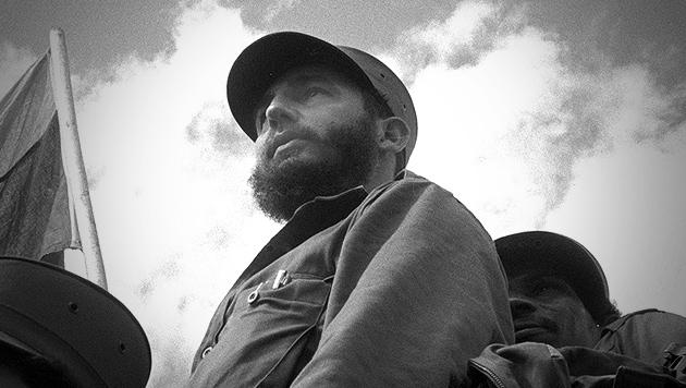 Kubas Ex-Präsident Fidel Castro (90) verstorben (Bild: APA/EPA/Roberto Salas/Cultural Center of Cooperation)
