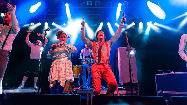 FM Belfast sorgten für Schweiß auf der Tanzfläche (Bild: Andreas Graf)