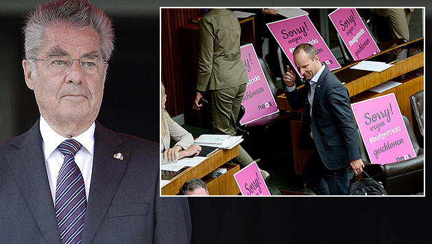 """Fischer: """"Schadet dem Ansehen des Parlaments"""" (Bild: APA/BUNDESHEER/ PETER LECHNER, ROLAND SCHLAGER)"""