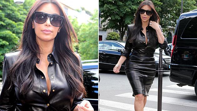 Kim Kardashian: 600-Kalorien-Diät vor Hochzeit (Bild: AP)