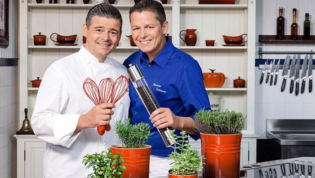 Andi & Alex feiern Rückkehr ins TV (Bild: ORF)