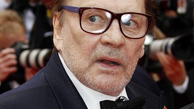 Enfant terrible Helmut Berger wird 70 Jahre alt (Bild: APA/EPA/SEBASTIEN NOGIER)