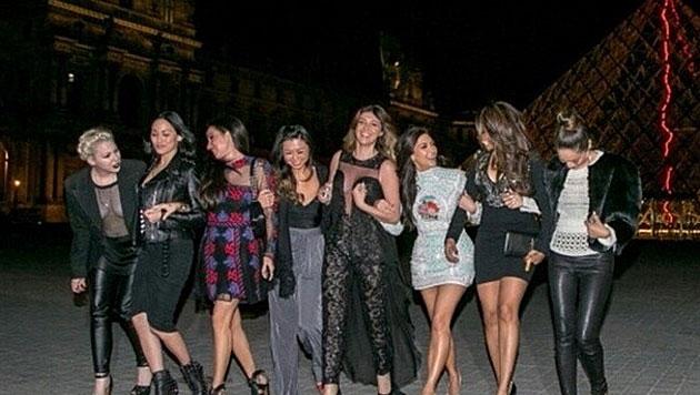 """""""Ich bin so glücklich. Ich habe die besten Freundinnen in der ganzen weiten Welt."""" (Bild: instagram.com/kimkardashian)"""
