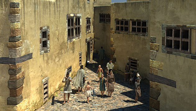 So sah das Pompeji Santorins vor 3.600 Jahren aus (Bild: © 7 Reasons GmbH, Michael Klein)