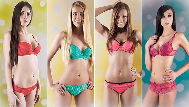 """So sexy sind die """"Miss Austria""""-Kandidatinnen (Bild: MANFRED BAUMANN)"""