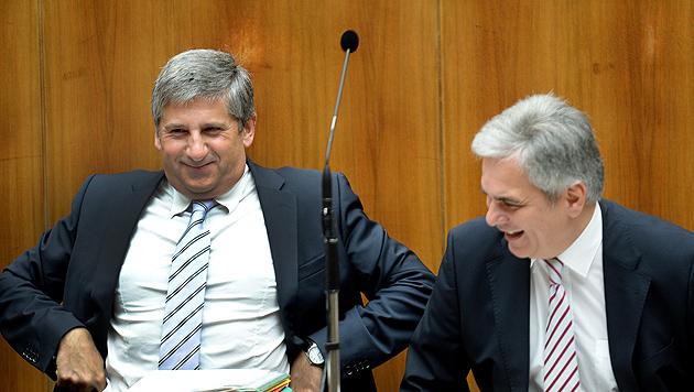 Umstrittenes Budget ohne viel Theater abgesegnet (Bild: APA/ROLAND SCHLAGER)