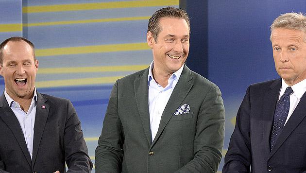 ÖVP bleibt klar vor SPÖ, FPÖ starke Dritte (Bild: APA/HANS KLAUS TECHT)