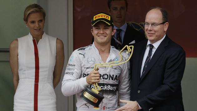 Rosberg nach Triumph in Monaco WM-Leader (Bild: AP)