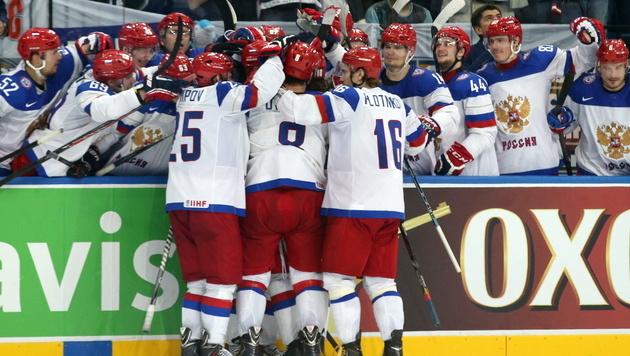 Russland krönt sich zum Eishockey-Weltmeister (Bild: APA/EPA/TATYANA ZENKOVICH)