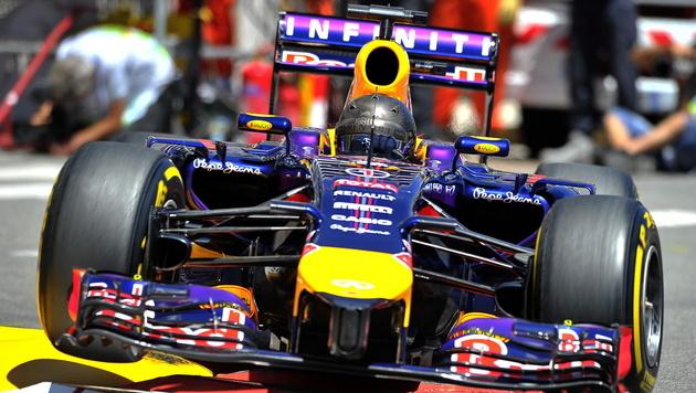 Vettel in Monaco nach wenigen Runden out (Bild: APA/EPA/NICOLAS BOUVY)