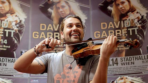 David Garrett wehrt sich gegen Gewalt-Sex-Vorwurf (Bild: APA/Georg Hochmuth)