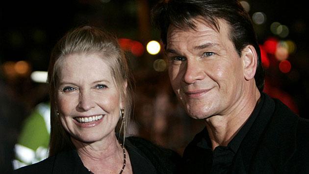 Witwe von Patrick Swayze hat wieder geheiratet (Bild: AP)