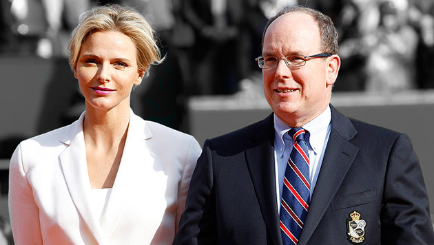 Albert hat bereits Sohn Éric Alexandre Stéphane und Tochter Jazmin Grace Grimaldi. (Bild: APA/EPA/SEBASTIEN NOGIER, krone.at-Grafik)