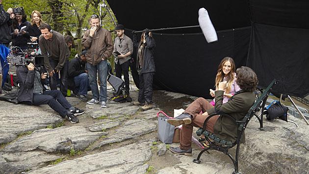 Auf einen Lunch im Park mit Sarah Jessica Parker (Bild: Spar/Andrew Southam)