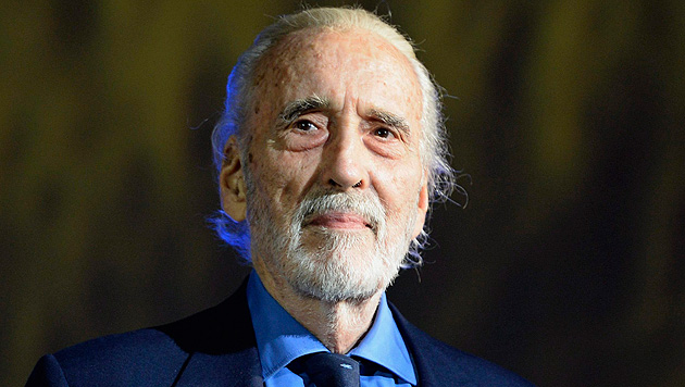 Christopher Lee bringt Heavy-Metal-Album heraus (Bild: EPA)