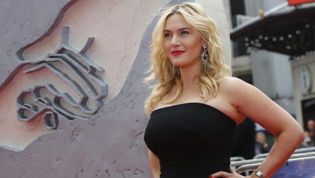"""Kate Winslet sagte dreimal """"Ja, ich will"""" - zuletzt zu Musiker Ned Rocknroll. (Bild: APA/EPA/TAL COHEN)"""