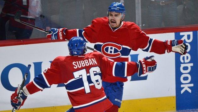 NHL: Montreal verkürzt gegen die Rangers auf 2:3 (Bild: AP)