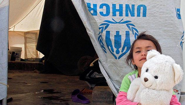 """Weitere 1.000 Syrer """"schnellstmöglich"""" nach Ö (Bild: APA/EPA/JAMAL NASRALLAH)"""