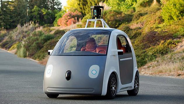 Zu langsam: Polizei hielt Robo-Auto von Google an (Bild: googleblog.blogspot.co.at)